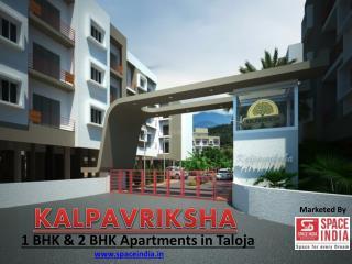 1 bhk & 2 bhk Flats/ apartments in Taloja, Panvel- Kalpavriksha