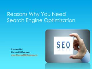 Reason Why you need SEO for your website