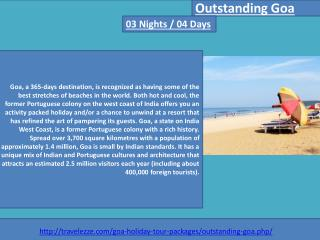 Outstanding Goa 03 Nights / 04 Days