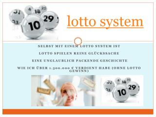 lotto system
