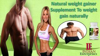 Natural Treatment For Weigh Gain