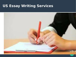 US Essay Writing Services