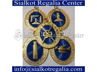 Craft provincial collar jewels
