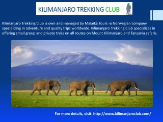 Complete Guide to Mount Kenya & Safari Club