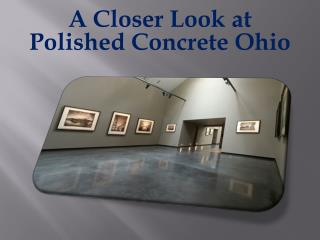 Concrete Polishing Ohio