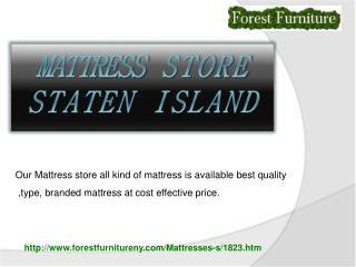 mattress store staten island