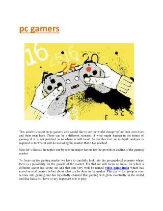 pc gaming reviews gamers games analysis
