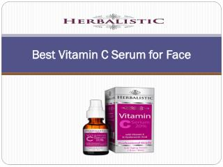 Best Vitamin C Serum for Face