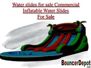 Water Slides for Sale in California, USA