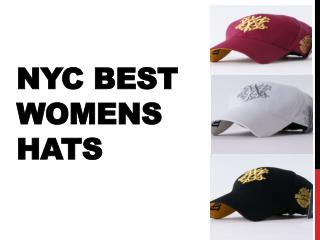 NYC Best Womens Hats