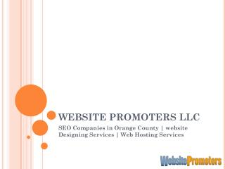 Orange County SEO Companies - websitepromoters.com