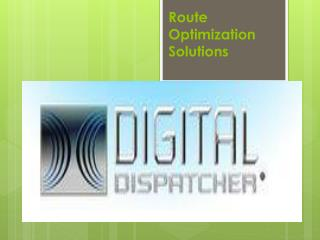 Route Optimization Solutions
