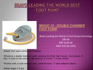Foot Pumps