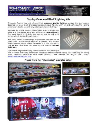 Display Case and Shelf Lighting kits