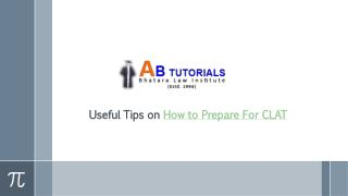 Useful Tips on How to Prepare For CLAT
