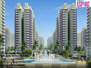 Nirala Aspire Greater Noida- 9560090095
