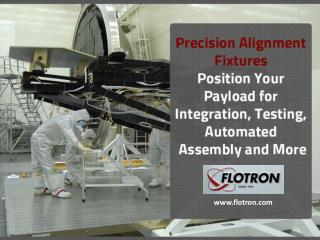 Precise control of position and orientation of a high value payload