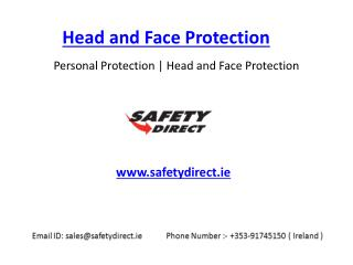 Head and Face protection in Ireland at SafetyDirect.ie