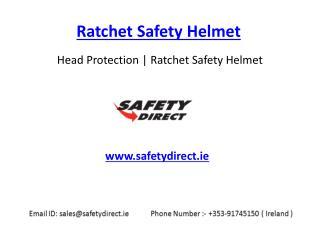 Ratchet Safety Helmet in Ireland at SafetyDirect.ie