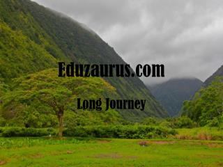 Eduzaurus.com Long Journey