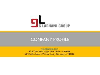Paritosh Ladhani - G Ladhani Group