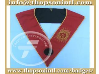 Masonic French rite collar