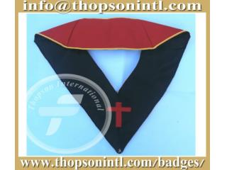 Masonic French rite collar - handmade