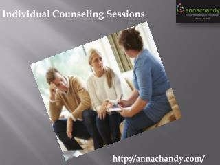 Individual Counseling Sessions