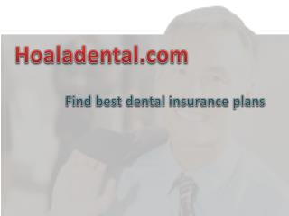 independent dental insurance