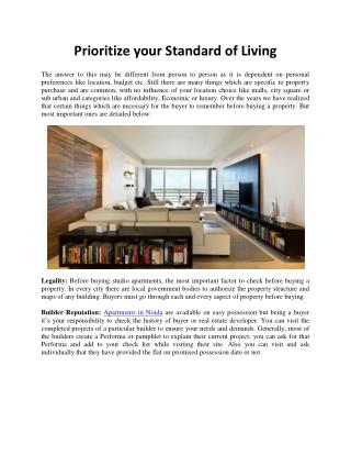 Ajnara Developers Review Prioritize your Standard of Living