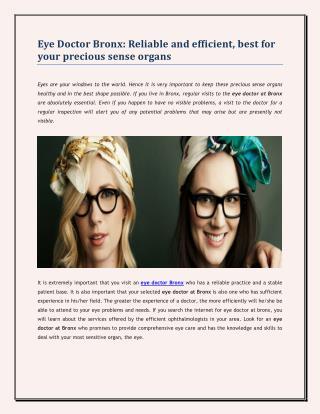 eye doctor bronx,eye glasses bronx,contacts bronx