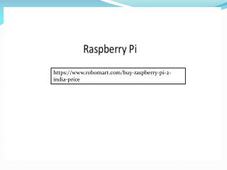 Raspberry Pi 2 India Ppt Online On SlideServe