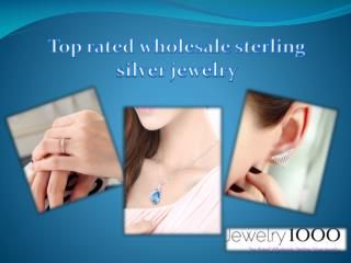 Top rated wholesale sterling silver jewelry