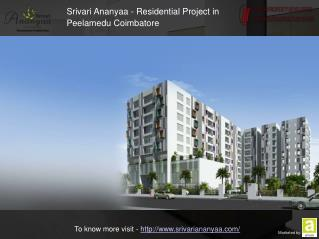 Srivari Ananyaa - Apartments For Sale In Coimbatore