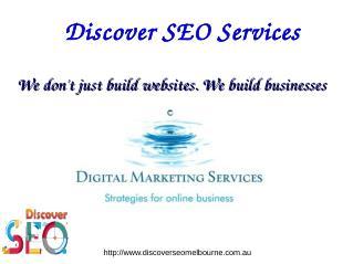 Online Marketing Melbourne SEO Services