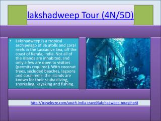lakshadweep Tour (4N/5D)