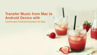Transfer Music from Mac to Android Device