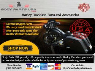 Harley Davidson Parts and accessories- Extended bags