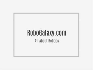 Online Robotics Courses : Online Robot Education | Learning Robotics Online