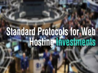 What is a Good Web Hosting Investment?