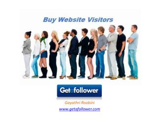 Buy Website Visitors