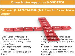 Canon Technical Support  || 1-877-776-4348 number toll free