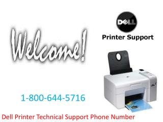 1-800-644-5716 Dell Printer Technical Support Phone Number