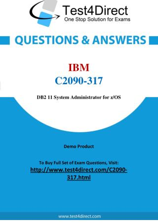 IBM C2090-317 Test - Updated Demo