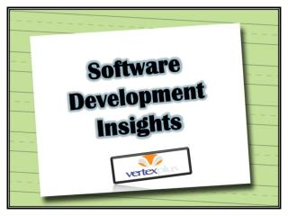 Software Development Insights