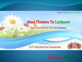 Online flowers delivery in Lucknow, Lucknow Florist