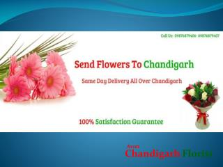 Online flowers delivery to Chandigarh