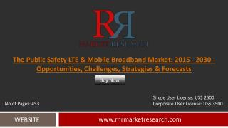 Overview of the Public Safety Mobile Broadband Market Report to 2015-2030