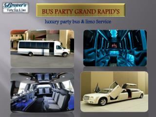 Bus Party Grand Rapid's