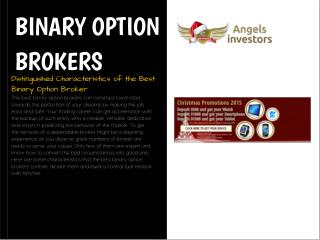Binary Options Brokers